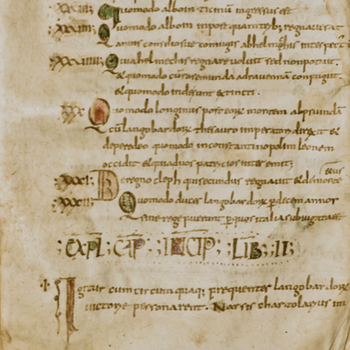 Greek and Latin Manuscripts. Libraries in the Ancient World and during the Middle Ages