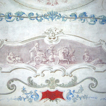 Draperies and chinoiserie